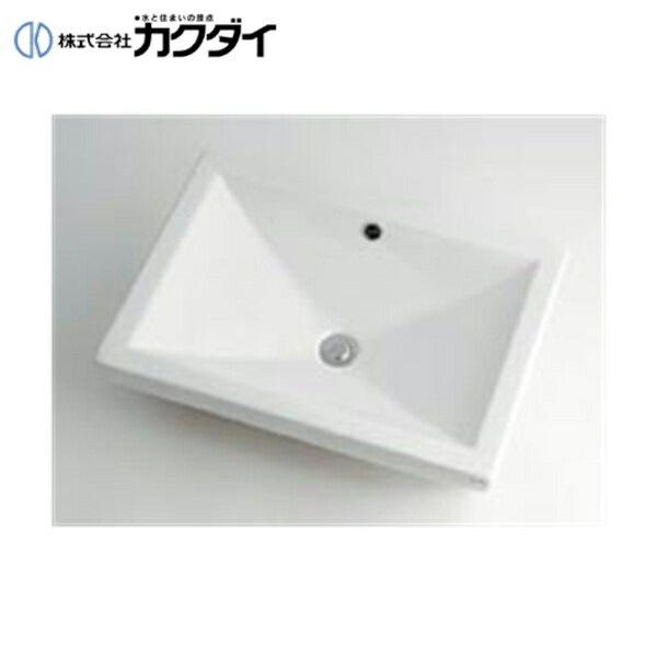 カクダイ[KAKUDAI]角型洗面器493-002