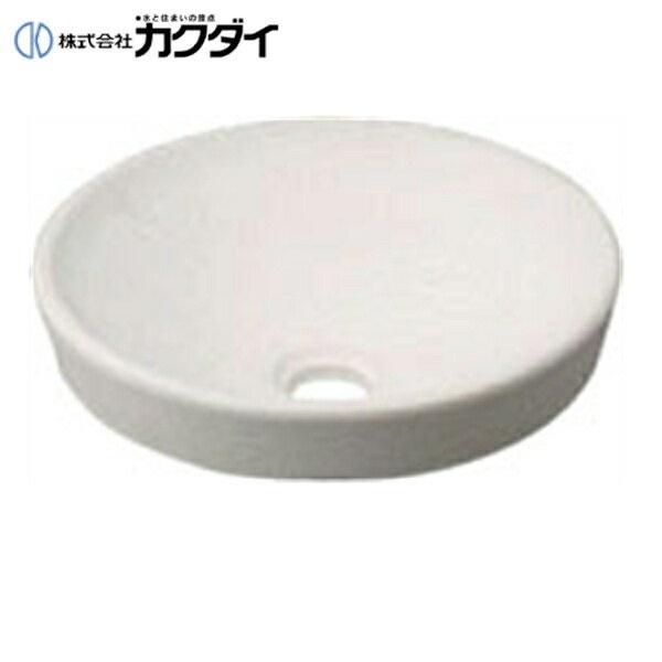 カクダイ[KAKUDAI]丸型手洗器493-012-W(月白)