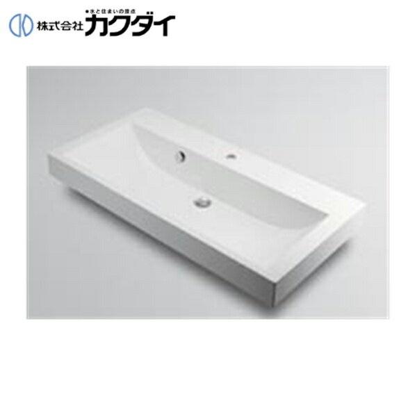 【期間限定お試し価格】 カクダイ[KAKUDAI]角型洗面器493-070-1000(1ホール):ハイカラン屋-木材・建築資材・設備