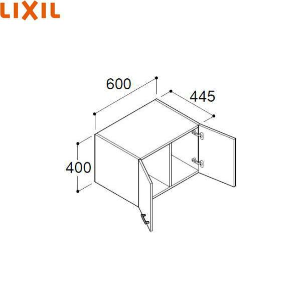 【フラッシュクーポン!5/1~5/8 AM9:59】[FTVU-604/VP1]リクシル[LIXIL/INAX][オフト]アッパーキャビネット[間口600]【送料無料】