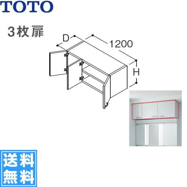 [LWJ1204F/M]TOTOリモデル用ウォールキャビネット[間口1,200mm]【送料無料】