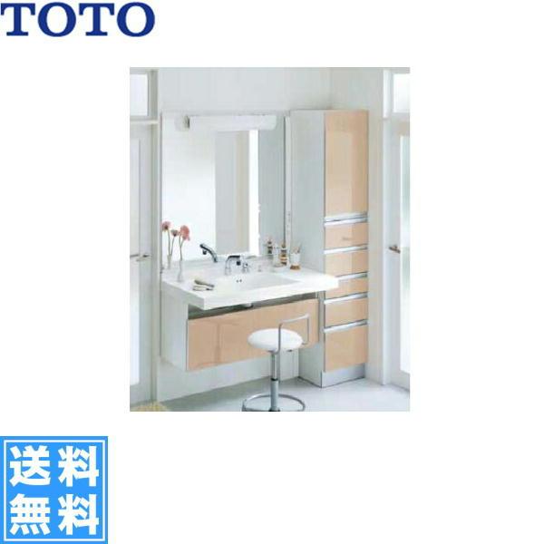 TOTO[座ってラクラクシリーズ]洗面化粧台とキャビネットセット1合計3点[間口1650mm]【送料無料】