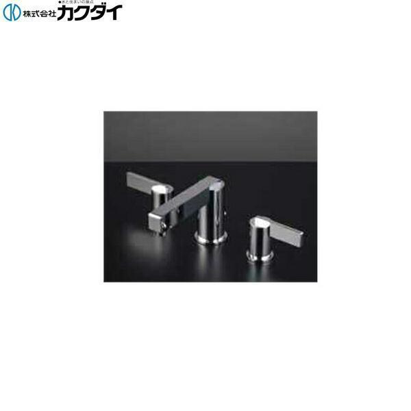 カクダイ[KAKUDAI]2ハンドル混合栓153-006【送料無料】