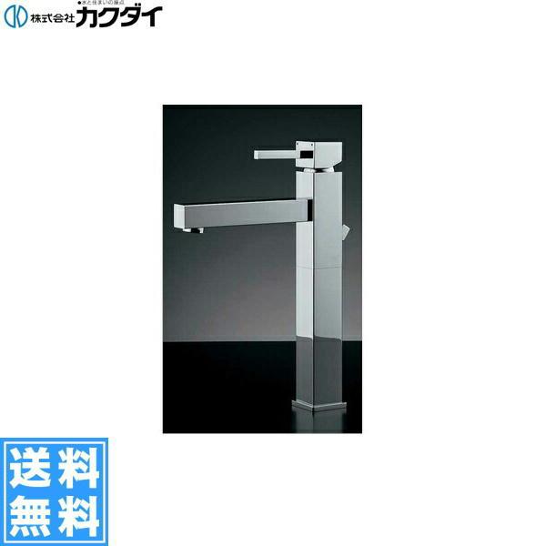 【フラッシュクーポン!5/1~5/8 AM9:59】カクダイ[KAKUDAI]シングルレバー混合栓//トール183-072【送料無料】