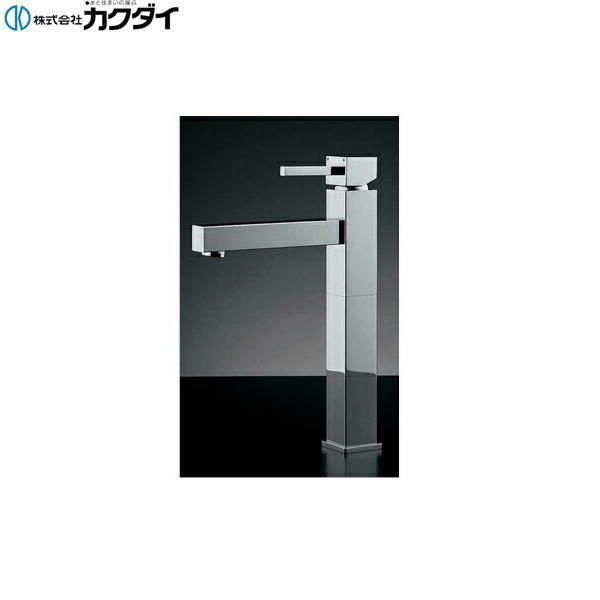 【フラッシュクーポン!5/1~5/8 AM9:59】カクダイ[KAKUDAI]シングルレバー混合栓//トール183-073【送料無料】