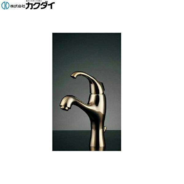 [183-100K-CG]カクダイ[KAKUDAI]シングルレバー混合栓【送料無料】