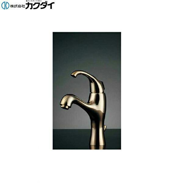 【フラッシュクーポン!5/1~5/8 AM9:59】[183-101K-CG]カクダイ[KAKUDAI]シングルレバー混合栓【送料無料】