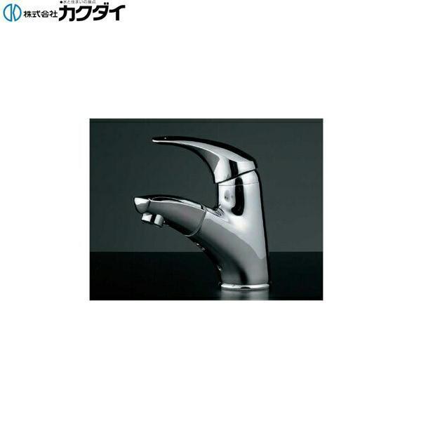 カクダイ[KAKUDAI]シングルレバー引出し混合栓184-003【送料無料】