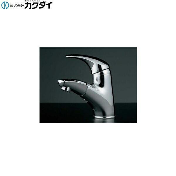 【★11/10限定★エントリー&カードでポイント最大12倍】カクダイ[KAKUDAI]シングルレバー引出し混合栓184-003K【送料無料】
