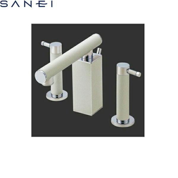 新作 三栄水栓[SAN-EI]ツーバルブ洗面混合水栓K55300P-JW[一般地仕様][送料無料]:ハイカラン屋-木材・建築資材・設備