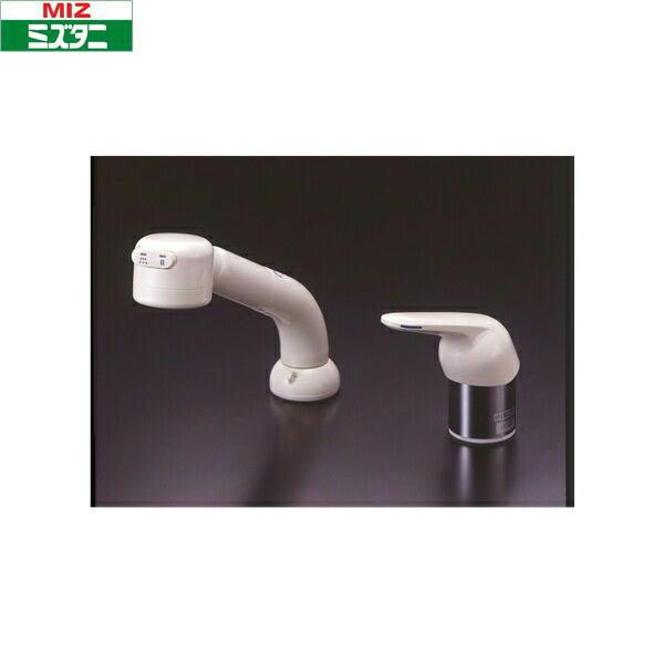 ミズタニバルブ[MIZUTANI]シングルレバー混合栓[ホース引出しタイプ]K13-481SUHZ【送料無料】