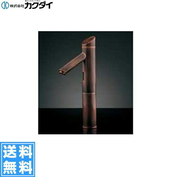 カクダイ[KAKUDAI]センサー水栓//トール、ブロンズ713-323【送料無料】