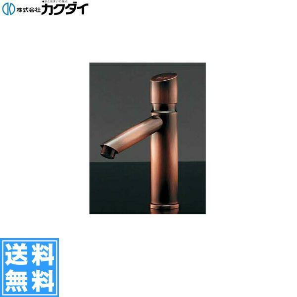 カクダイ[KAKUDAI]自閉立水栓//ブロンズ716-315-13【送料無料】