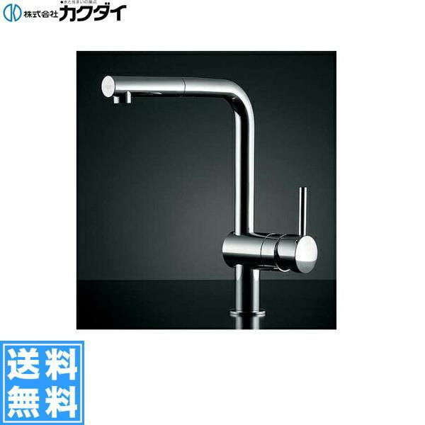カクダイ[KAKUDAI]シングルレバー引出し混合栓#GR-3216800J【送料無料】