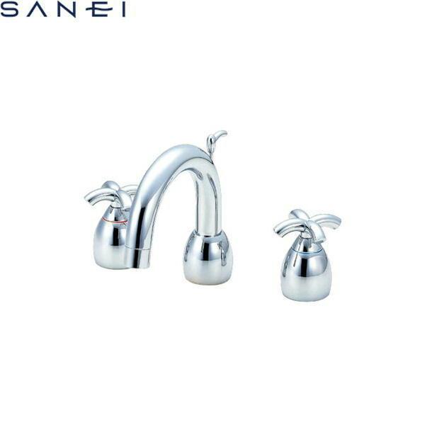 三栄水栓[SAN-EI]ツーバルブ洗面混合水栓K5540P[一般地仕様][送料無料]