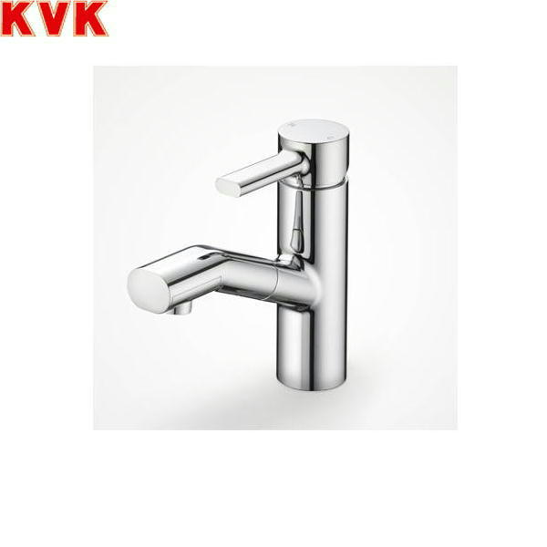 [KF909Z]KVK洗面用シングルレバー混合水栓[equal][寒冷地仕様][ホース引出し式]【送料無料】