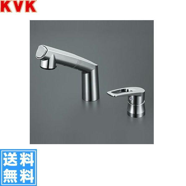 【フラッシュクーポン!5/1~5/8 AM9:59】[KM5271TA]KVK洗面用シングルレバー式洗髪シャワー混合水栓[一般地仕様]【送料無料】