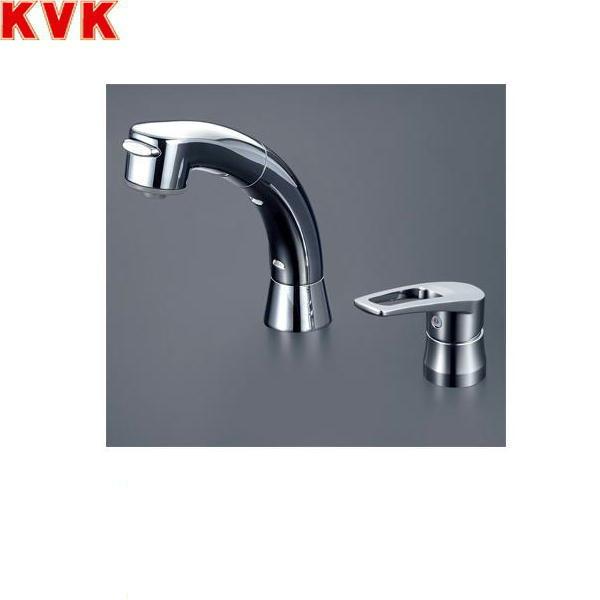 [KM5271ZTS2]KVK洗面用シングルレバー式洗髪シャワー混合水栓[寒冷地仕様]【送料無料】
