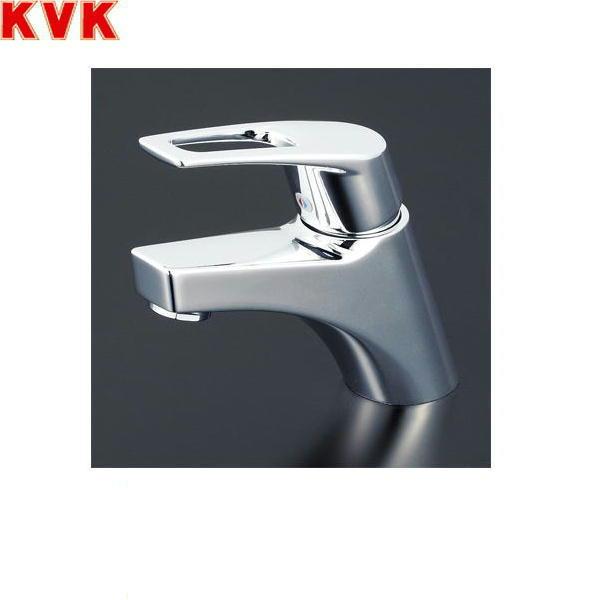 [KM7001THP]KVK洗面用シングルレバー混合水栓[一般地仕様][取付穴径兼用型][ポップアップ式]【送料無料】
