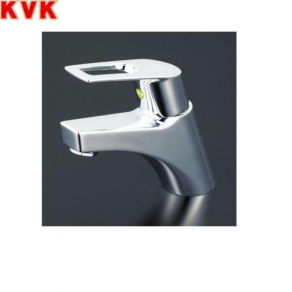 [KM7001ZTHPEC]KVK洗面用シングルレバー混合水栓[寒冷地仕様][取付穴径兼用型][ポップアップ式][送料無料]