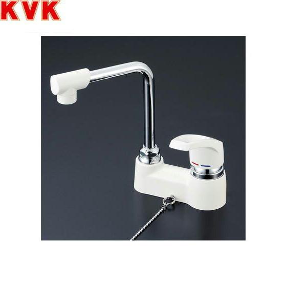 【フラッシュクーポン!5/1~5/8 AM9:59】[KM7024Z]KVK洗面用シングルレバー混合水栓[寒冷地仕様][ゴム栓なし]【送料無料】