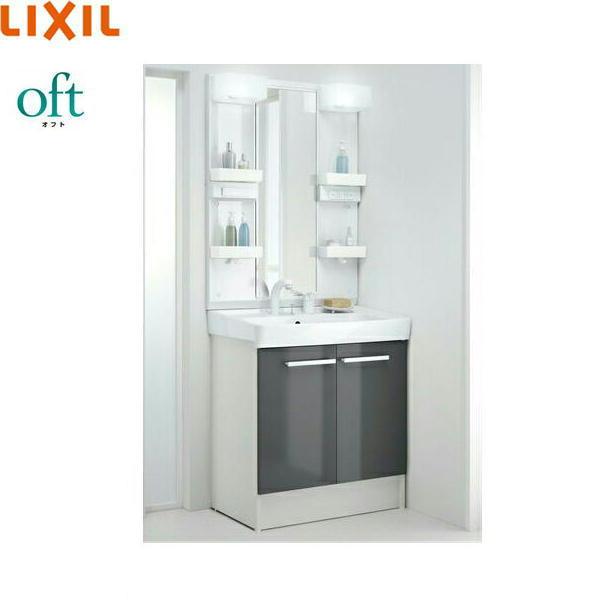 [FTVN-755SY1-W+MFTX1-751XPJU]リクシル[LIXIL/INAX][オフト]洗面化粧台セット[セット間口750]【送料無料】