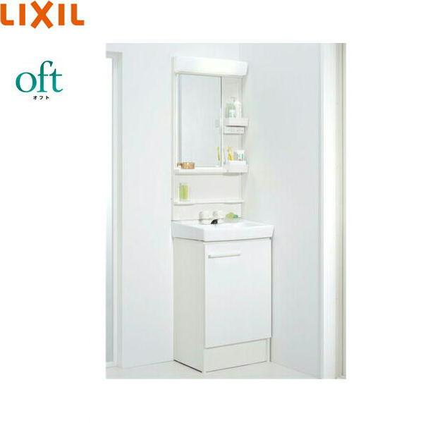 [FTVN-500+MFK-501S]リクシル[LIXIL/INAX][オフト]洗面化粧台セット[セット間口500・LED・スタンダード]【送料無料】