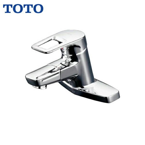 【フラッシュクーポン!6/1~6/7 AM9:59】[TLHG30DQES]TOTO洗面所用シングル混合水栓[台付き2穴]吐水口回転タイプ