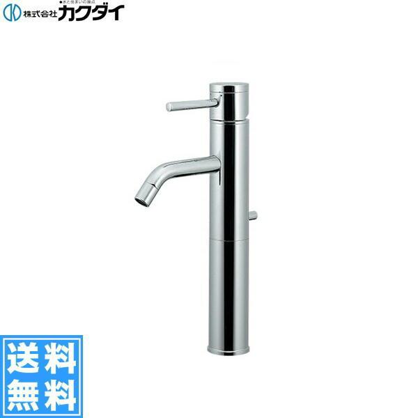 [183-127]カクダイ[KAKUDAI]シングルレバー混合栓[ミドル][一般地・寒冷地共用]【送料無料】