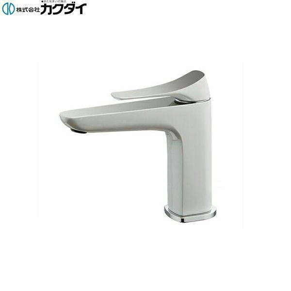 [183-181GN]カクダイ[KAKUDAI]シングルレバー混合栓[白塗装仕上げ][送料無料]