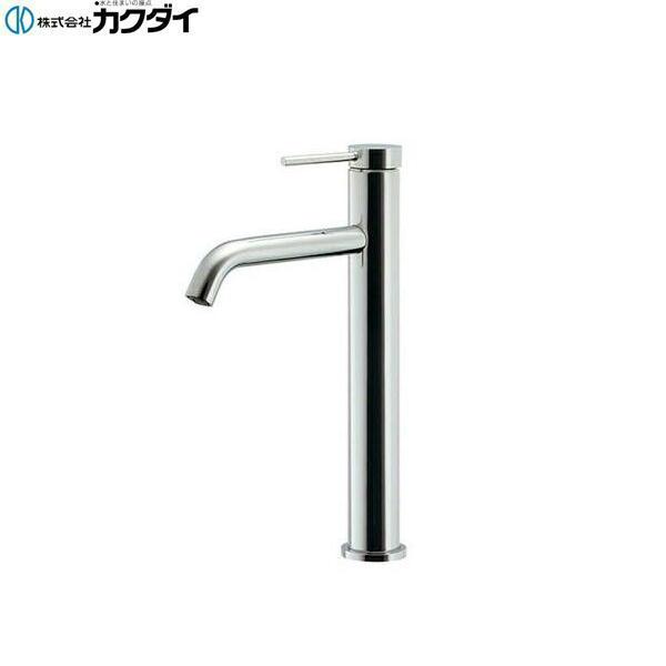 [183-227]カクダイ[KAKUDAI]シングルレバー混合栓[トール][一般地・寒冷地共用]【送料無料】