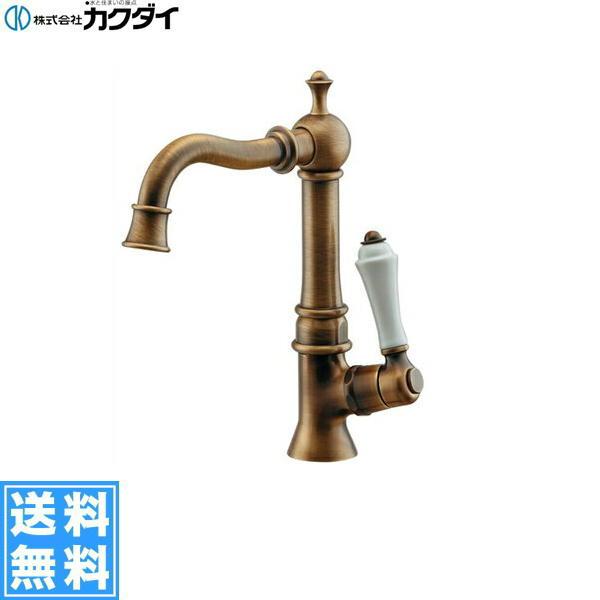 [700-738-13]カクダイ[KAKUDAI]立水栓[オールドブラス]【送料無料】