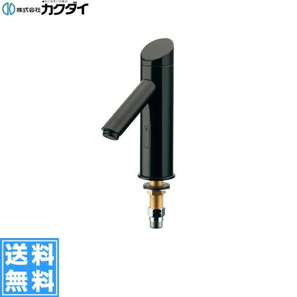 [713-337]カクダイ[KAKUDAI]センサー水栓//ブラック【送料無料】