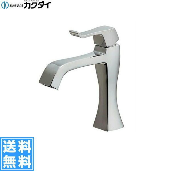 【フラッシュクーポン!5/1~5/8 AM9:59】[716-238-13]カクダイ[KAKUDAI]シングルレバー立水栓【送料無料】