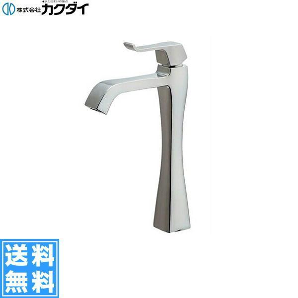 [716-239-13]カクダイ[KAKUDAI]シングルレバー立水栓[ミドル]【送料無料】