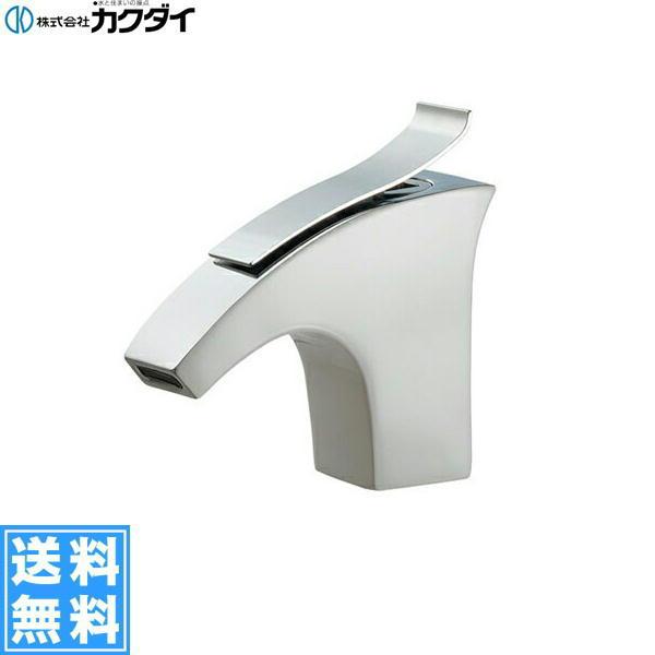 【フラッシュクーポン!5/1~5/8 AM9:59】[716-243-13]カクダイ[KAKUDAI]立水栓[ホワイト]【送料無料】