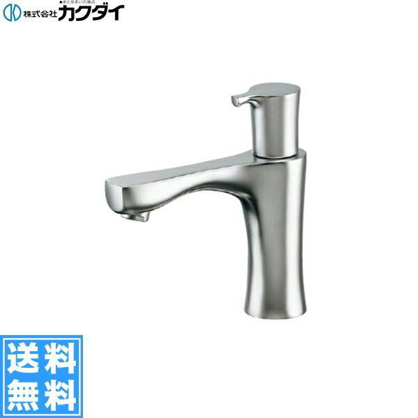 【フラッシュクーポン!5/1~5/8 AM9:59】[716-862-13]カクダイ[KAKUDAI]立水栓[マットシルバー]【送料無料】