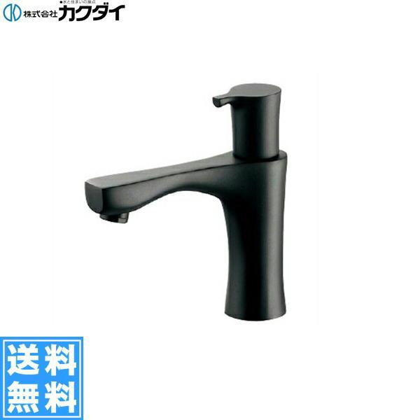 【フラッシュクーポン!5/1~5/8 AM9:59】[716-871-13]カクダイ[KAKUDAI]立水栓[マットブラック]【送料無料】