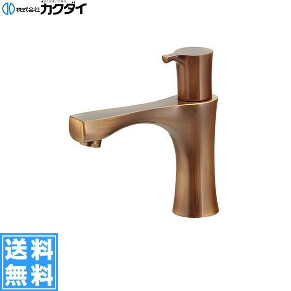 【フラッシュクーポン!5/1~5/8 AM9:59】[716-874-13]カクダイ[KAKUDAI]立水栓[オールドブラス]【送料無料】