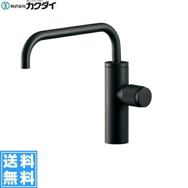 【フラッシュクーポン!5/1~5/8 AM9:59】[721-227-13]カクダイ[KAKUDAI]立水栓[マットブラック]【送料無料】