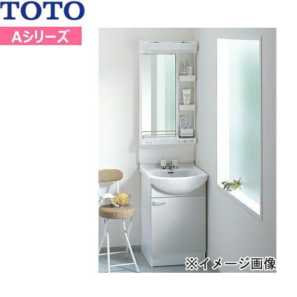 [LDA506ACU-LMA500E]TOTO[Aシリーズ]洗面化粧台セット07[セット間口500mm][一面鏡・片開き扉][洗面ボウル高さ750mm]【送料無料】