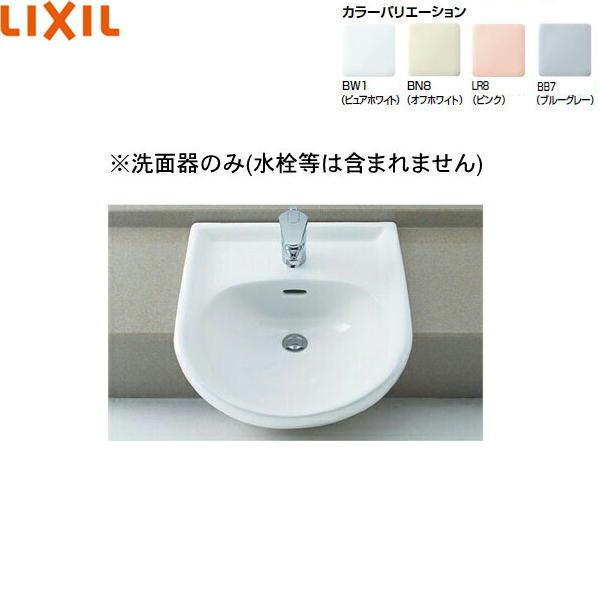リクシル[LIXIL/INAX]はめ込み前丸形洗面器[オーバーカウンター式]L-2160【送料無料】