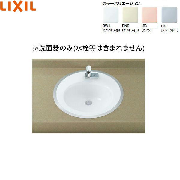 INAX-L-2584 L-2584 リクシル LIXIL INAX 新色 フレーム式 ランキングTOP10 はめ込み円形洗面器