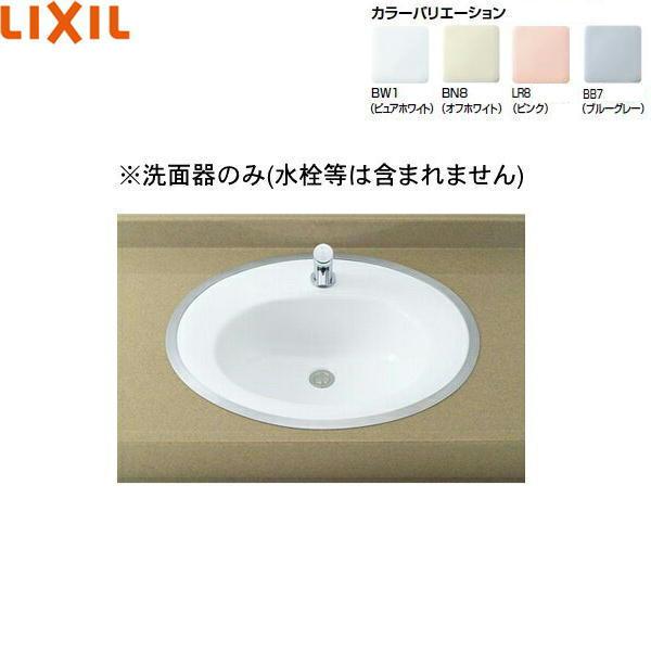 リクシル[LIXIL/INAX]はめ込みだ円形洗面器[フレーム式]L-2594【送料無料】