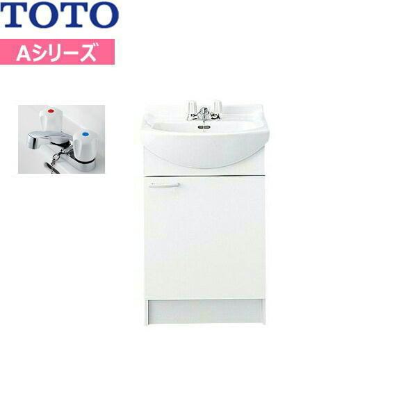 [LDA506ACU]TOTO[Aシリーズ]洗面化粧台[化粧台のみ]間口500mm[2ハンドル混合水栓][洗面ボウル高さ750mm]【送料無料】