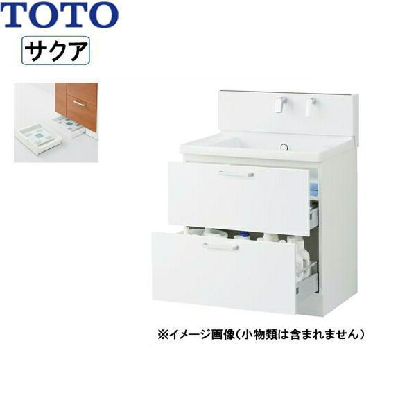 [LDSWB075BCJEN1A]TOTO[SAKUAサクア]洗面化粧台のみ[間口750]体重計収納[ホワイト][送料無料]