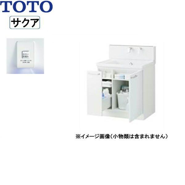 [LDSWB075BJGJN1A]TOTO[SAKUAサクア]洗面化粧台のみ[間口750]きれい除菌水[ホワイト]【送料無料】