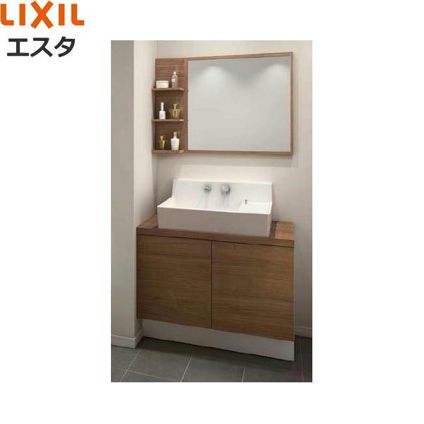 リクシル[LIXIL/INAX][エスタ]洗面化粧台などセット07[合計3点]コンポタイプ[間口900mm][送料無料]