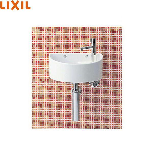 [YAWL-33(B)]リクシル[LIXIL/INAX]狭小手洗シリーズ手洗タイプ[丸形][壁給水/壁排水(ボトルトラップ)][アクアセラミック][送料無料]