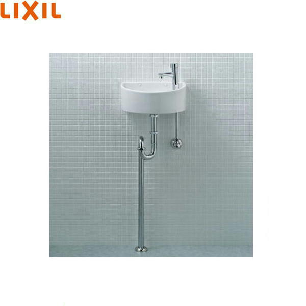 [YAWL-33(S)-S]リクシル[LIXIL/INAX]狭小手洗シリーズ手洗タイプ[丸形][床給水/床排水(Sトラップ)][アクアセラミック][送料無料]